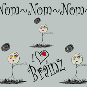 Zombies Nom Nom