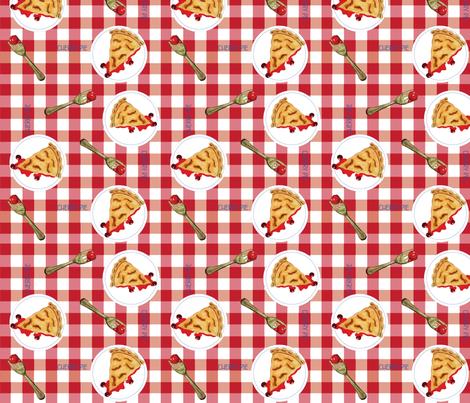 Pie fabric by chooks on Spoonflower - custom fabric
