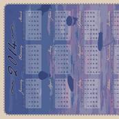 2014 Airship Skyline Calendar