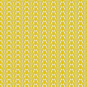 Snow Drop - Mustard Yellow