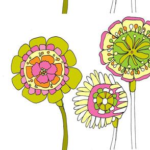 Floral Trio Stylized