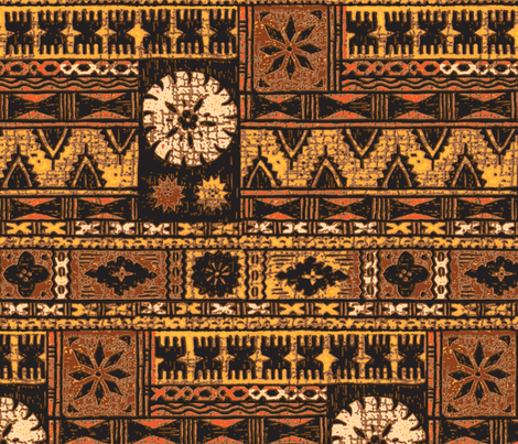 Fijian Tapa 1a fabric by muhlenkott on Spoonflower - custom fabric