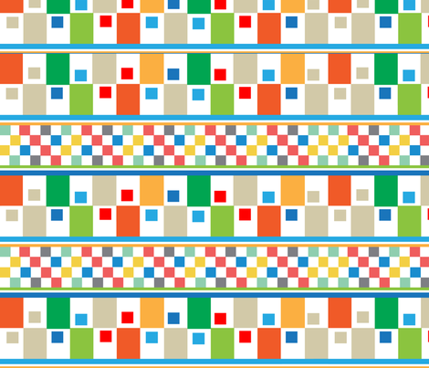SOOBLOO_SQUARED_OFF_1Q-01 fabric by soobloo on Spoonflower - custom fabric