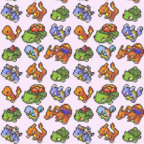 Rr8bit_pokemon_group_starters_fabric_big_4_colored_shop_preview