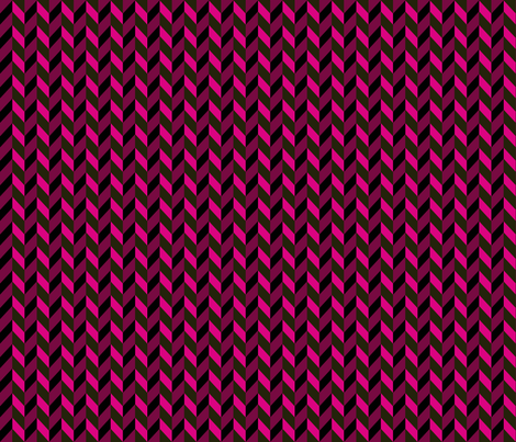 Braid_Pink fabric by mammajamma on Spoonflower - custom fabric