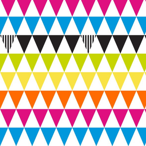 Triangle Flags 2