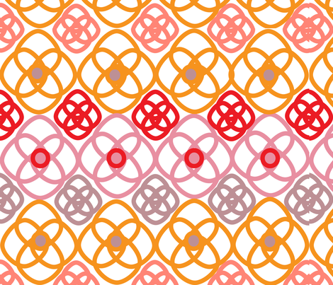 SOOBLOO_INTERTWINED_1Z-01 fabric by soobloo on Spoonflower - custom fabric