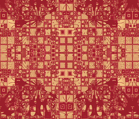 Geranium Reds Abstract 2 © Gingezel™ 2014