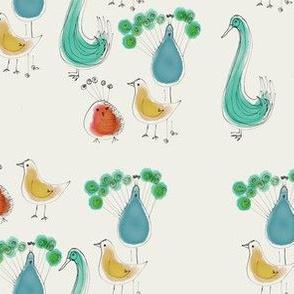 Fantastical birds