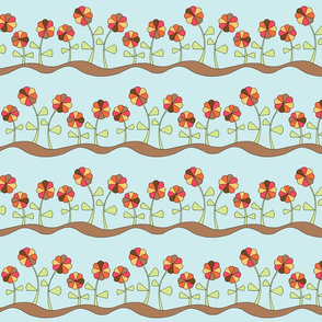 Pie Flowers