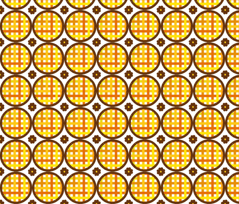 pies-ed fabric by pimpiniputtipa on Spoonflower - custom fabric