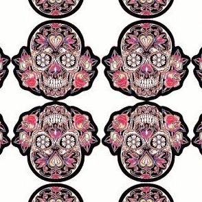 Sugar Skull - Pink