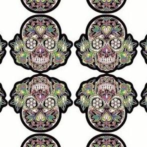 Sugar Skull - Rainbow