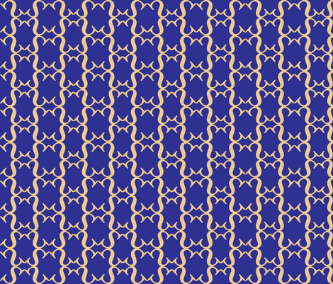 Blueberry lattice fabric by deesree on Spoonflower - custom fabric