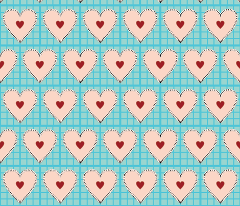 I Love Pie fabric by stefferjill188 on Spoonflower - custom fabric