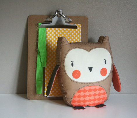 Owl - Stuffed Animal to Sew