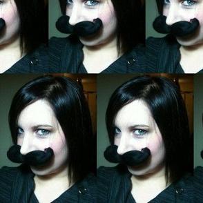 Mustachio Lady Shay