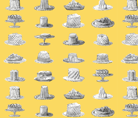 History Pies fabric by olga_munro on Spoonflower - custom fabric