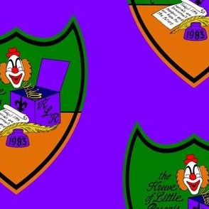 Krewe of Little Rascals Crest Logo 5x6