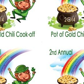 2014 OES Pot of Gold Chili Cook-off Logo