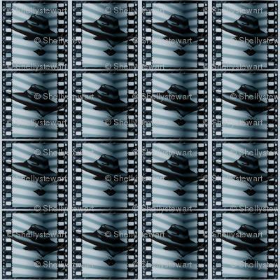 Film Noir_lady in the shadows