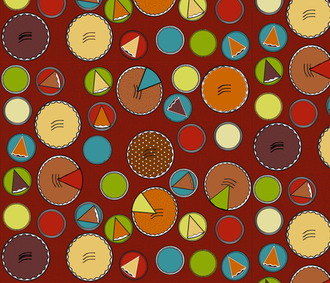 everybody_loves_pie fabric by reginamartinedesign on Spoonflower - custom fabric