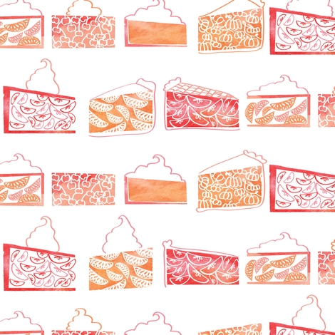 Pie a la Creme  fabric by emilysanford on Spoonflower - custom fabric