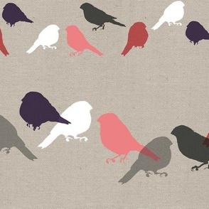 Bullfinch Block Canvas