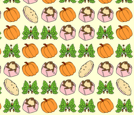 pie_print fabric by chetna on Spoonflower - custom fabric