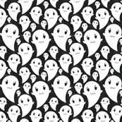spooky cute ghosts!