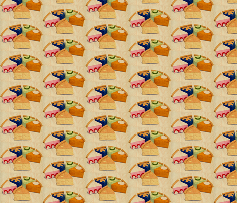 Pie fabric by sydneywaves on Spoonflower - custom fabric