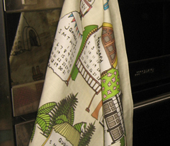 yay 2014 linen cotton canvas tea towel
