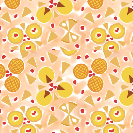 Pies fabric by vinpauld on Spoonflower - custom fabric