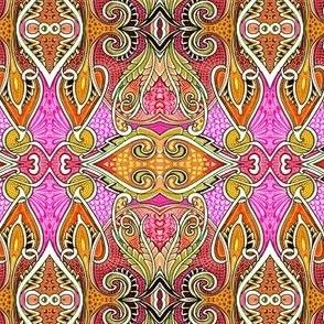 Orange and Pink Slink