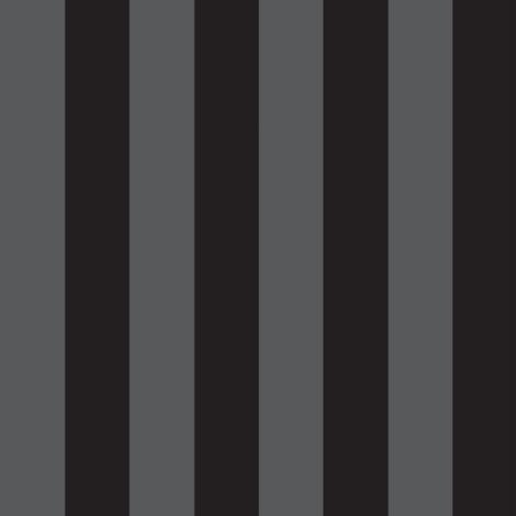 Black Grey Stripe -ed fabric by sewmommy on Spoonflower - custom fabric