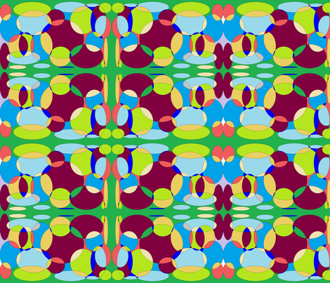 Kaleidoscope fabric by ameadows on Spoonflower - custom fabric