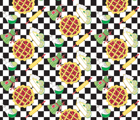 Pie_There-ch fabric by thecoppercricket on Spoonflower - custom fabric