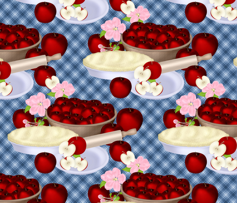 cp_applepie1 fabric by cindypie on Spoonflower - custom fabric
