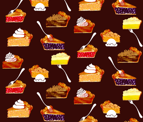 Sumptuous Slices fabric by graceful on Spoonflower - custom fabric