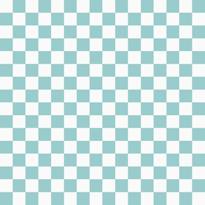 Checkerboard Blue