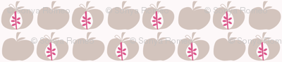 Apples Dusty Pink