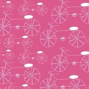 Bikes Dusty Pink