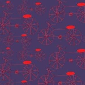 Bikes Violet