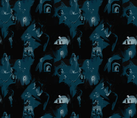 noir1 fabric by aliceelettrica on Spoonflower - custom fabric
