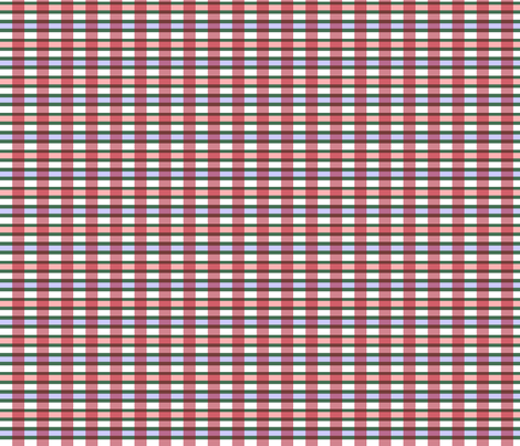 Raggedy Andy Big Bold Plaid fabric by spontaneouscombustion on Spoonflower - custom fabric