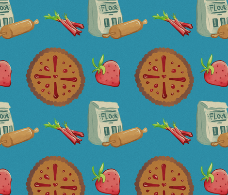 Pie_Pattern02-01 fabric by ehoover on Spoonflower - custom fabric