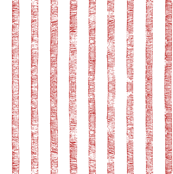 Red Stripes on White