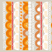 2015 citrus slice tea towel calendar-21 inch