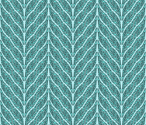 acanthus blues fabric by keweenawchris on Spoonflower - custom fabric