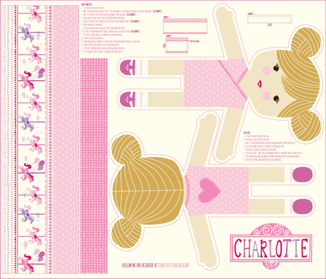Charlotte_mini fabric by stacyiesthsu on Spoonflower - custom fabric